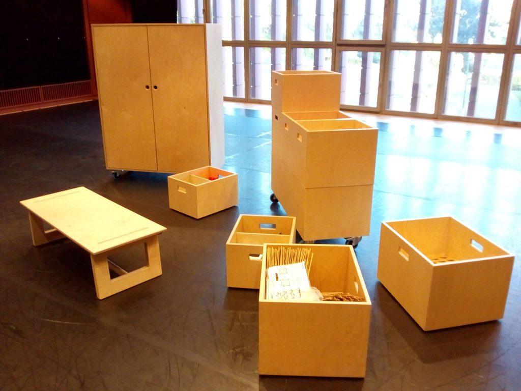 Kast Speelboxen Tafel Vonkfabrik
